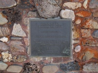 Bear River Massacre National Historic Monument Plaque image. Click for full size.