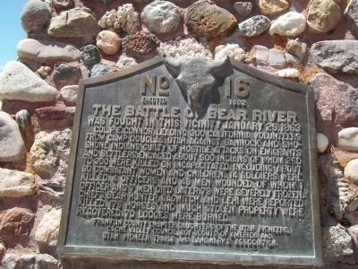 The Battle of Bear River Marker image. Click for full size.