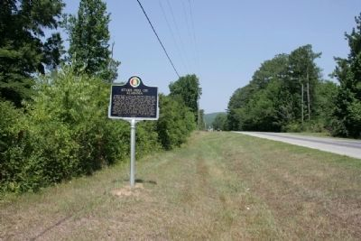 Stars Fell On Alabama / Hodges Meteorite Marker (North View) image. Click for full size.