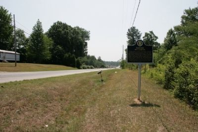 Stars Fell On Alabama / Hodges Meteorite Marker (South View) image. Click for full size.