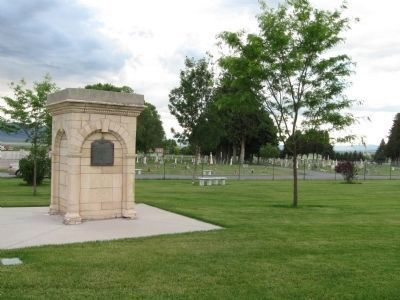 Manti Cemetery image. Click for full size.