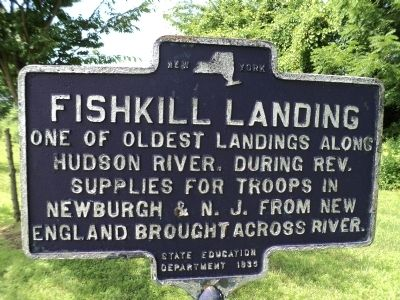Fishkill Landing Marker image. Click for full size.