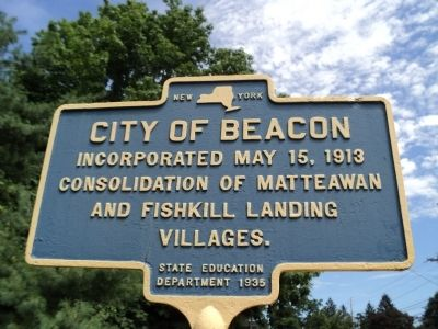 City of Beacon Marker image. Click for full size.