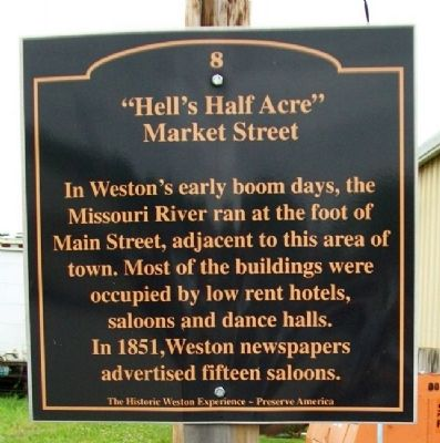 """Hell's Half Acre"" Marker image. Click for full size."