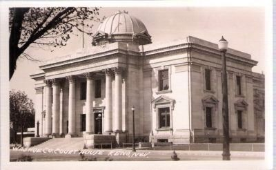 Postcard Image - Washoe County Courthouse image. Click for full size.