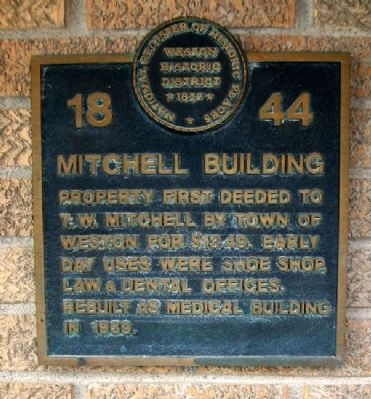 Mitchell Building Marker image. Click for full size.