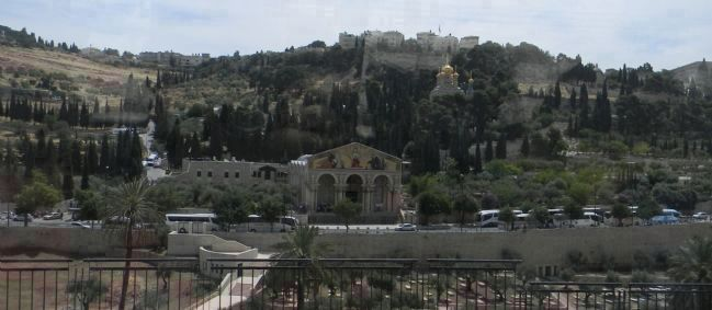 Jerusalem: Mount of Olives image. Click for full size.