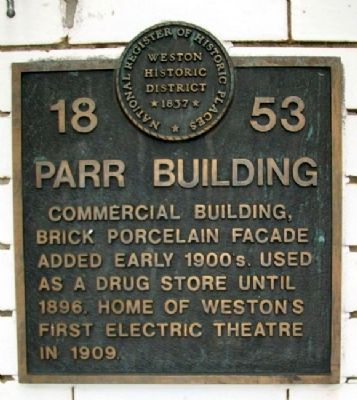 Parr Building Marker image. Click for full size.