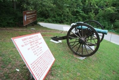 Barret's Missouri Battery Marker image. Click for full size.