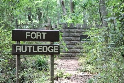 Fort Rutledge Monument image. Click for full size.