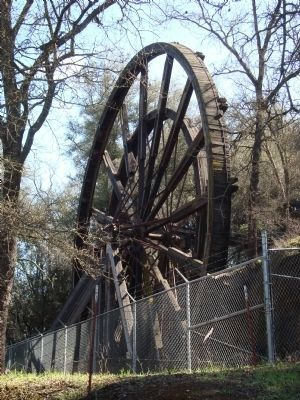 Kennedy Mine Tailing Wheel #1. image. Click for full size.