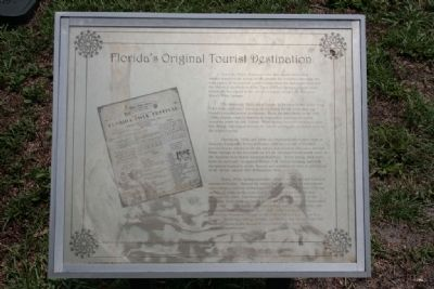 Florida's Original Tourist Destination Marker image. Click for full size.