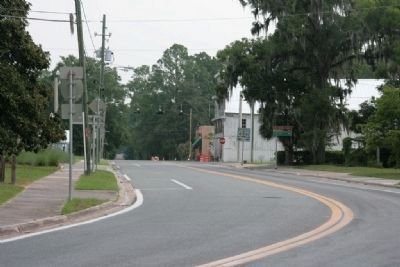 Downtown White Springs, Florida image. Click for full size.