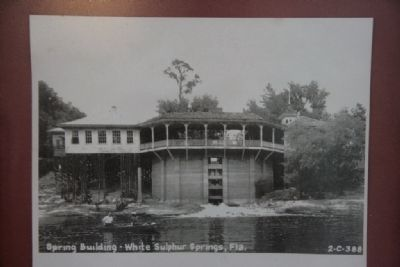 Spring Building viewed from the Suwannee River image. Click for full size.