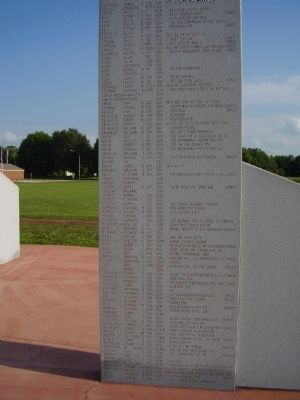 Fallston Veterans Memorial Marker image. Click for full size.