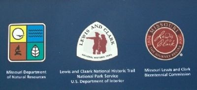 Lewis and Clark in Missouri Marker Sponsors image. Click for full size.