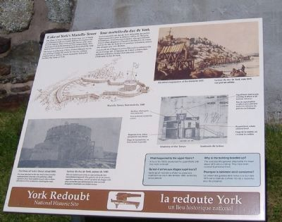 Duke of York's Martello Tower Marker image. Click for full size.