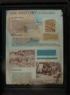 The History of This Area Marker image. Click for full size.