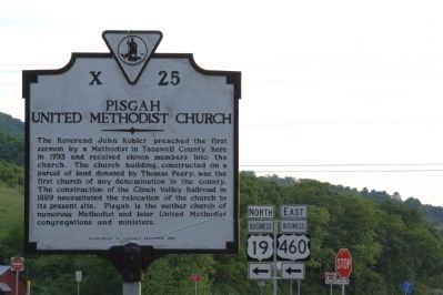 Pisgah United Methodist Church Marker image. Click for full size.