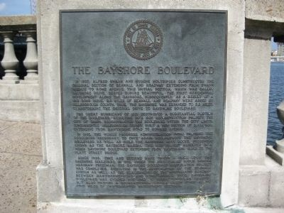 The Bayshore Boulevard Marker image. Click for full size.
