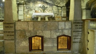 Roman Catholic Chapel of the Manger in the Grotto of the Nativity image. Click for full size.