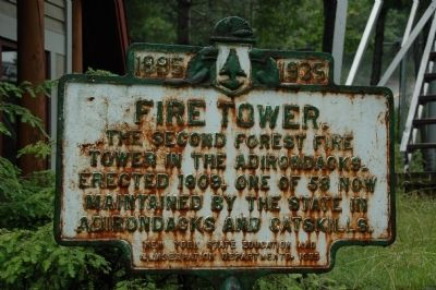 Fire Tower Marker image. Click for full size.