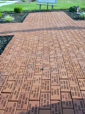 Path of 'Memorial Bricks' image. Click for full size.