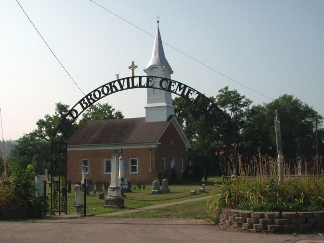 The Old Brookville Church and Cemetery image. Click for full size.