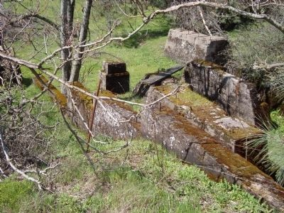 Lincoln Mine Hoist Foundation. image. Click for full size.