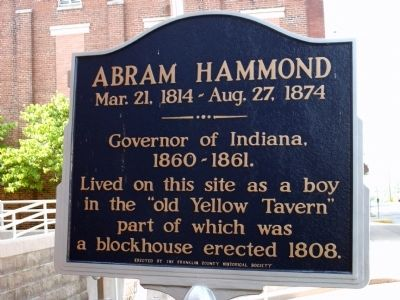 Abram Hammond Marker image. Click for full size.