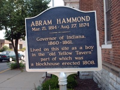 Obverse Side - - Abram Hammond Marker image, Touch for more information