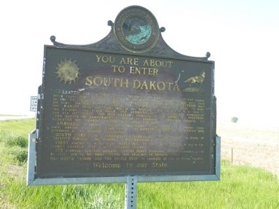 You are about to enter South Dakota Marker image. Click for full size.