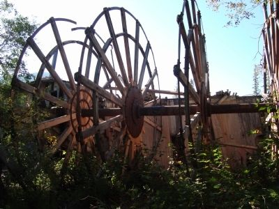 The Paddlewheel Graveyard #3. image. Click for full size.