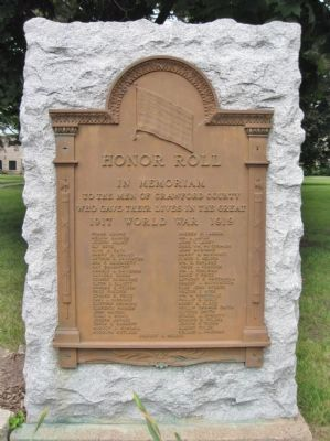 Honor Roll image. Click for full size.