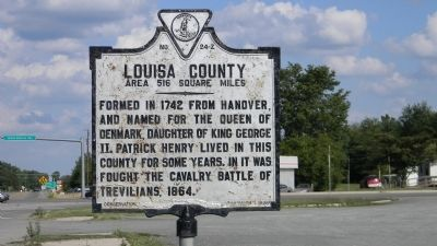 Louisa County Marker image. Click for full size.