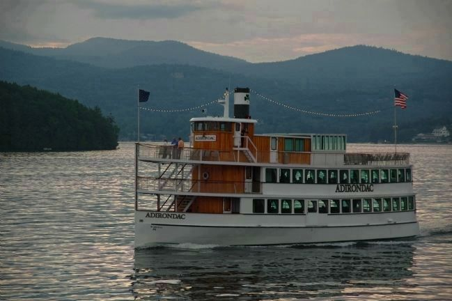 "The Adirondacks - Lake George, ""<i>The Queen of American Lakes""</i> image. Click for full size."