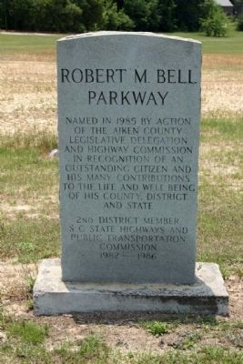 Robert M. Bell Parkway Marker image. Click for full size.