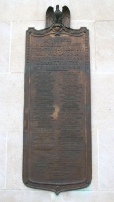 Atchison County World War I Memorial Marker image. Click for full size.