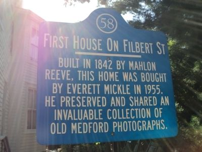 First House on Filbert Street Marker image. Click for full size.