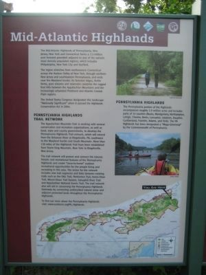Mid-Atlantic Highlands Marker image. Click for full size.