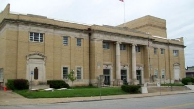 Atchison County Soldiers and Sailors Memorial Hall image. Click for full size.