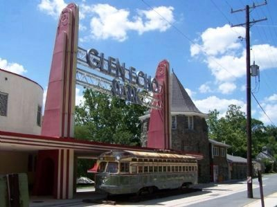 Glen Echo Park entrance image. Click for full size.