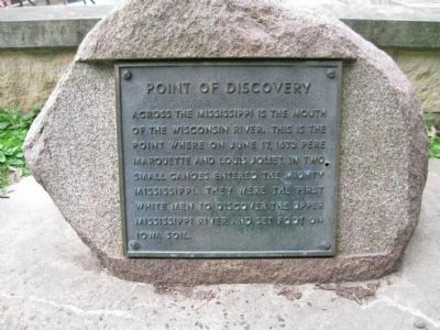 Point of Discovery Marker image. Click for full size.