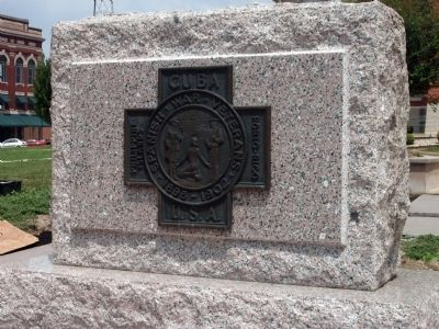 Spanish American War Veterans Marker image. Click for full size.