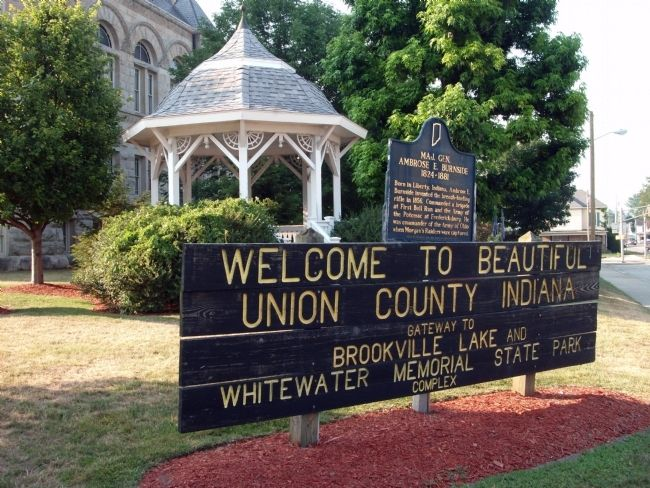 Sign - - Welcome to Union County image. Click for full size.