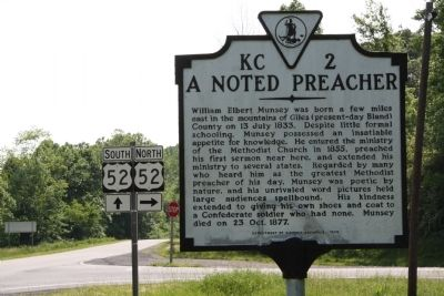 A Noted Preacher Marker image. Click for full size.