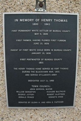 Thomas History Museum Marker image. Click for full size.