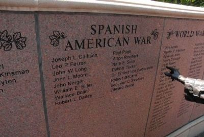 Spanish-American War Veterans image. Click for full size.