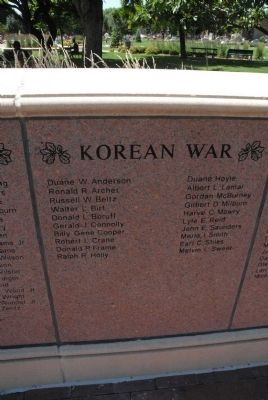 Korean War Veterans image. Click for full size.