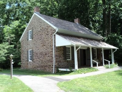 Princeton Friends – Quaker Meeting House image. Click for full size.